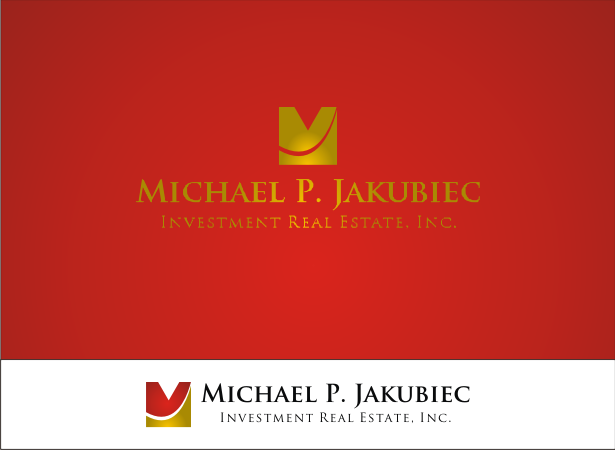 Logo Design by Armada Jamaluddin - Entry No. 107 in the Logo Design Contest New Logo Design for Michael P. Jakubiec Investment Real Estate, Inc..