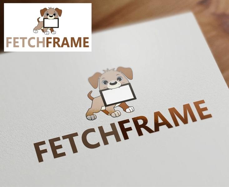 Logo Design by Juan_Kata - Entry No. 100 in the Logo Design Contest New Logo Design for FetchFrame.