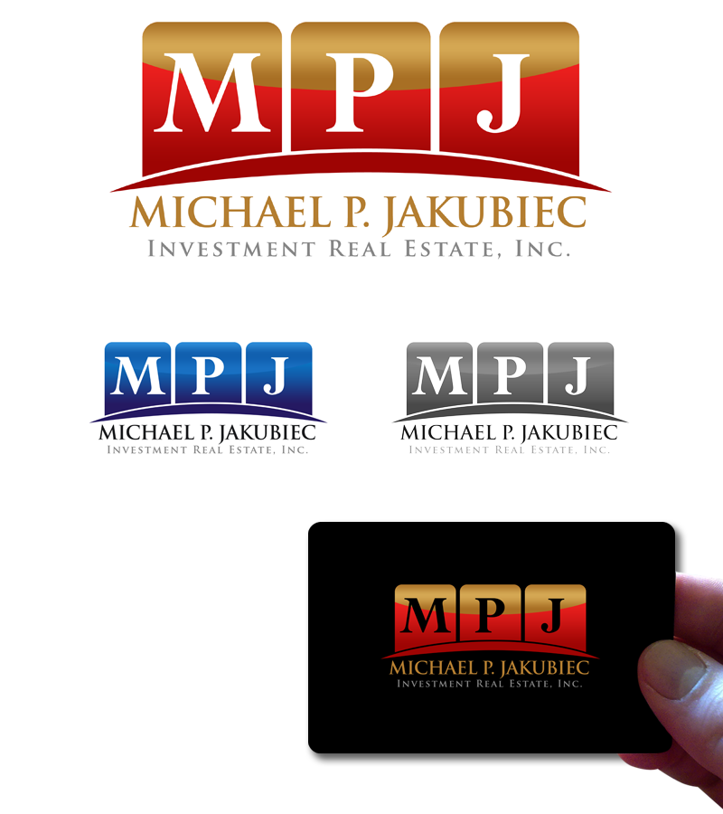 Logo Design by Private User - Entry No. 110 in the Logo Design Contest New Logo Design for Michael P. Jakubiec Investment Real Estate, Inc..