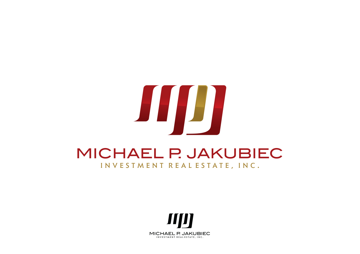 Logo Design by autobot - Entry No. 111 in the Logo Design Contest New Logo Design for Michael P. Jakubiec Investment Real Estate, Inc..