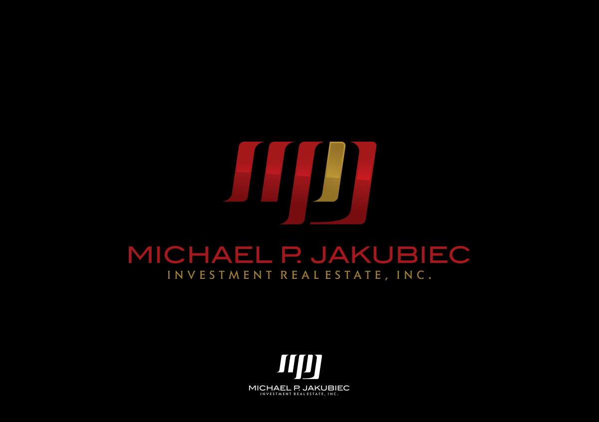 Logo Design by autobot - Entry No. 112 in the Logo Design Contest New Logo Design for Michael P. Jakubiec Investment Real Estate, Inc..