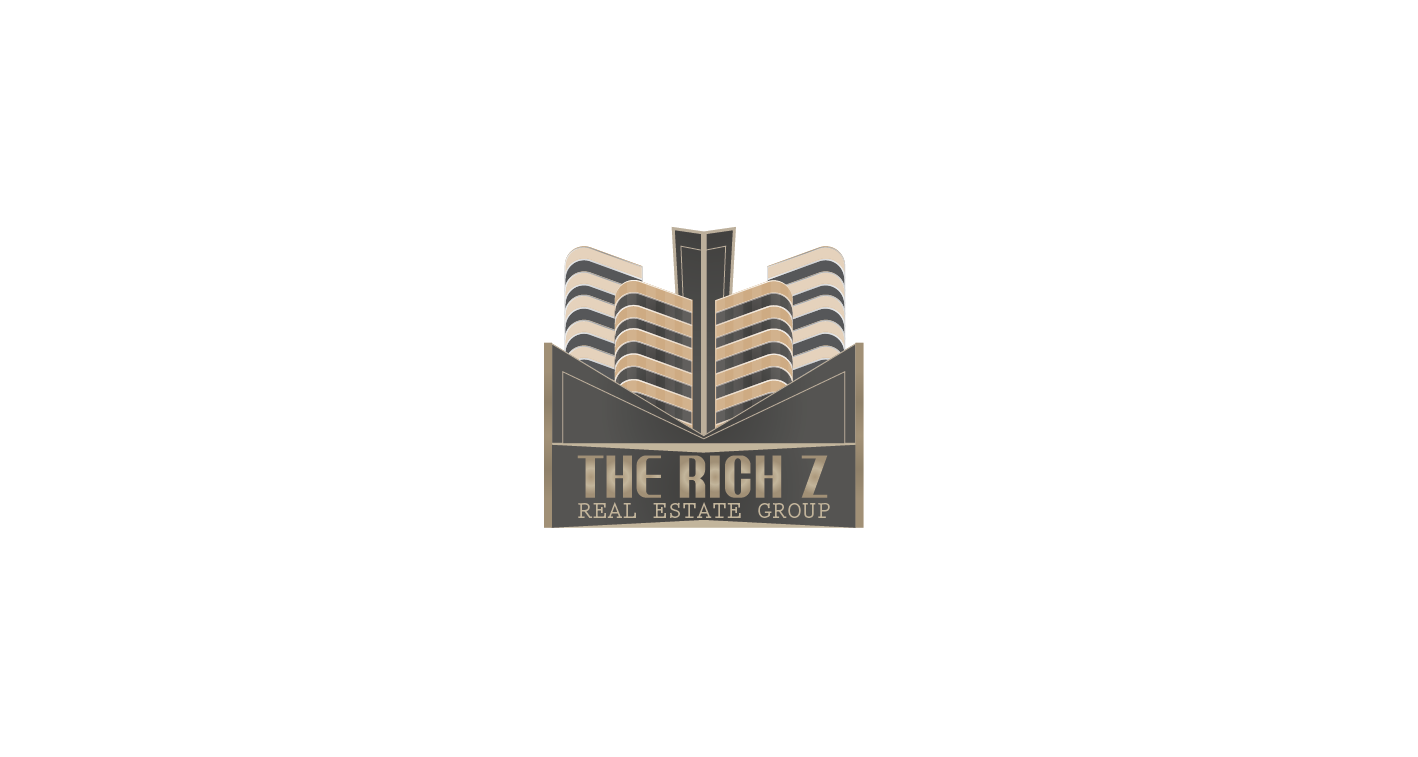 Logo Design by Private User - Entry No. 290 in the Logo Design Contest The Rich Z. Real Estate Group Logo Design.