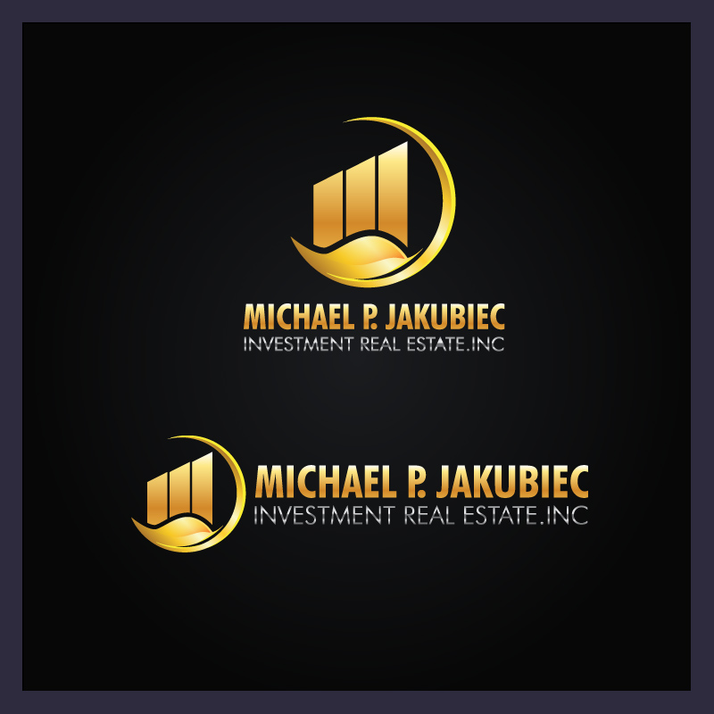 Logo Design by Puspita Wahyuni - Entry No. 113 in the Logo Design Contest New Logo Design for Michael P. Jakubiec Investment Real Estate, Inc..