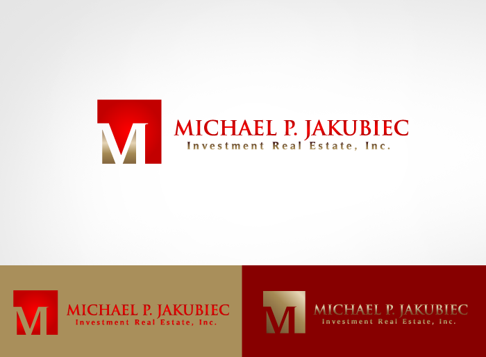 Logo Design by Jan Chua - Entry No. 116 in the Logo Design Contest New Logo Design for Michael P. Jakubiec Investment Real Estate, Inc..