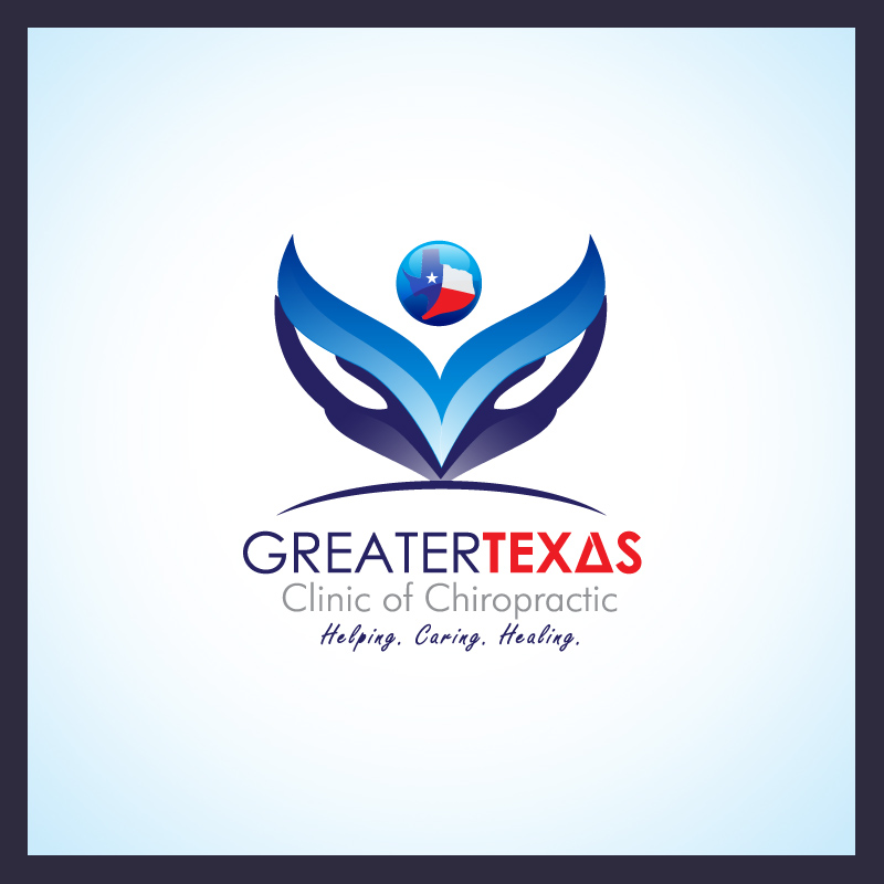 Logo Design by Puspita Wahyuni - Entry No. 23 in the Logo Design Contest New Logo Design for Greater Texas Clinic of Chiropractic.