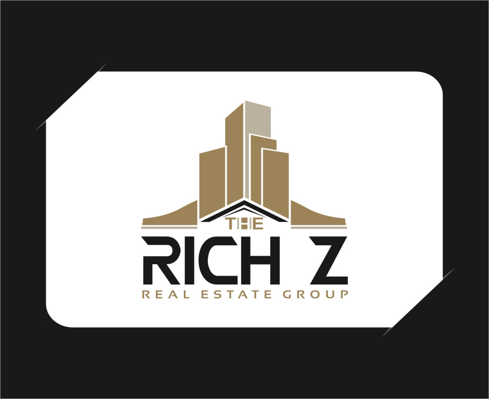 Logo Design by RoSyid Rono-Rene On Java - Entry No. 295 in the Logo Design Contest The Rich Z. Real Estate Group Logo Design.