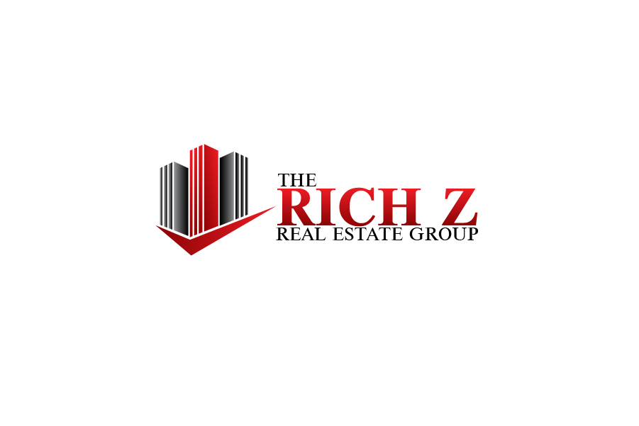 Logo Design by Private User - Entry No. 299 in the Logo Design Contest The Rich Z. Real Estate Group Logo Design.