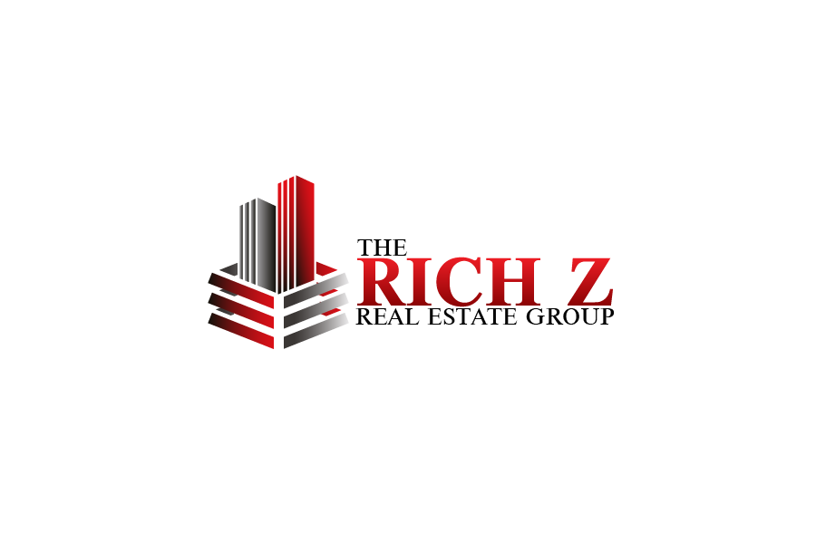 Logo Design by Private User - Entry No. 300 in the Logo Design Contest The Rich Z. Real Estate Group Logo Design.
