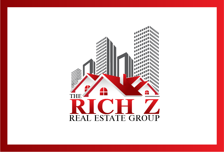 Logo Design by Private User - Entry No. 301 in the Logo Design Contest The Rich Z. Real Estate Group Logo Design.