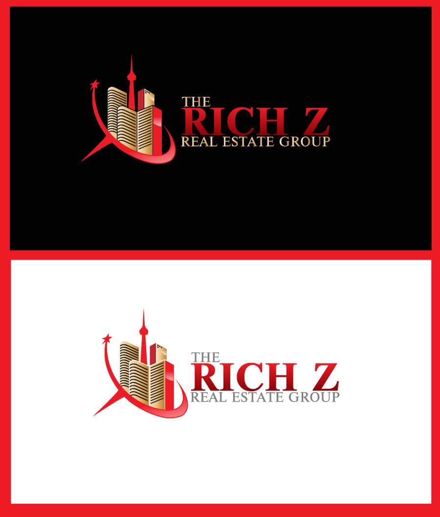 Logo Design by Private User - Entry No. 303 in the Logo Design Contest The Rich Z. Real Estate Group Logo Design.