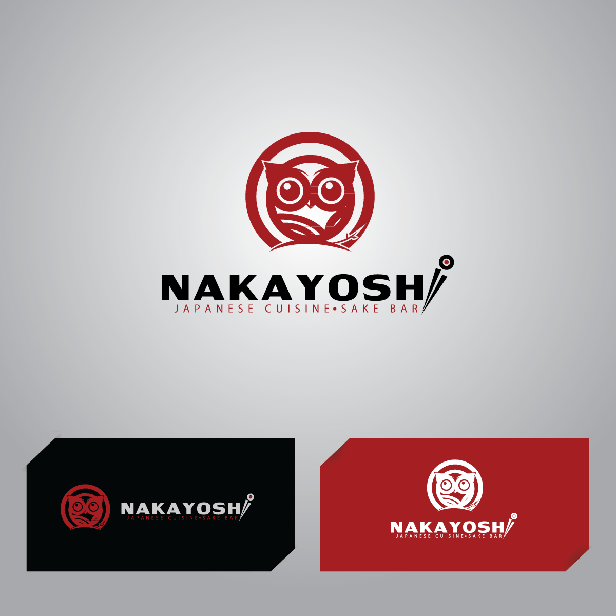Logo Design by Crismar Cabinian - Entry No. 61 in the Logo Design Contest Imaginative Logo Design for NAKAYOSHI.