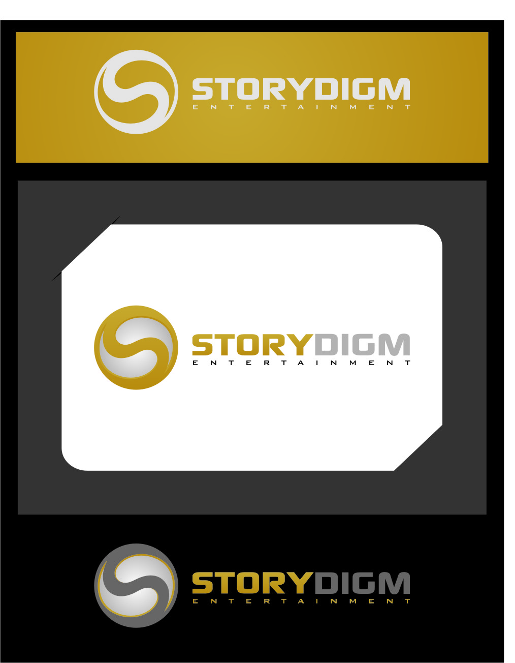 Logo Design by Ngepet_art - Entry No. 89 in the Logo Design Contest Inspiring Logo Design for Storydigm Entertainment.