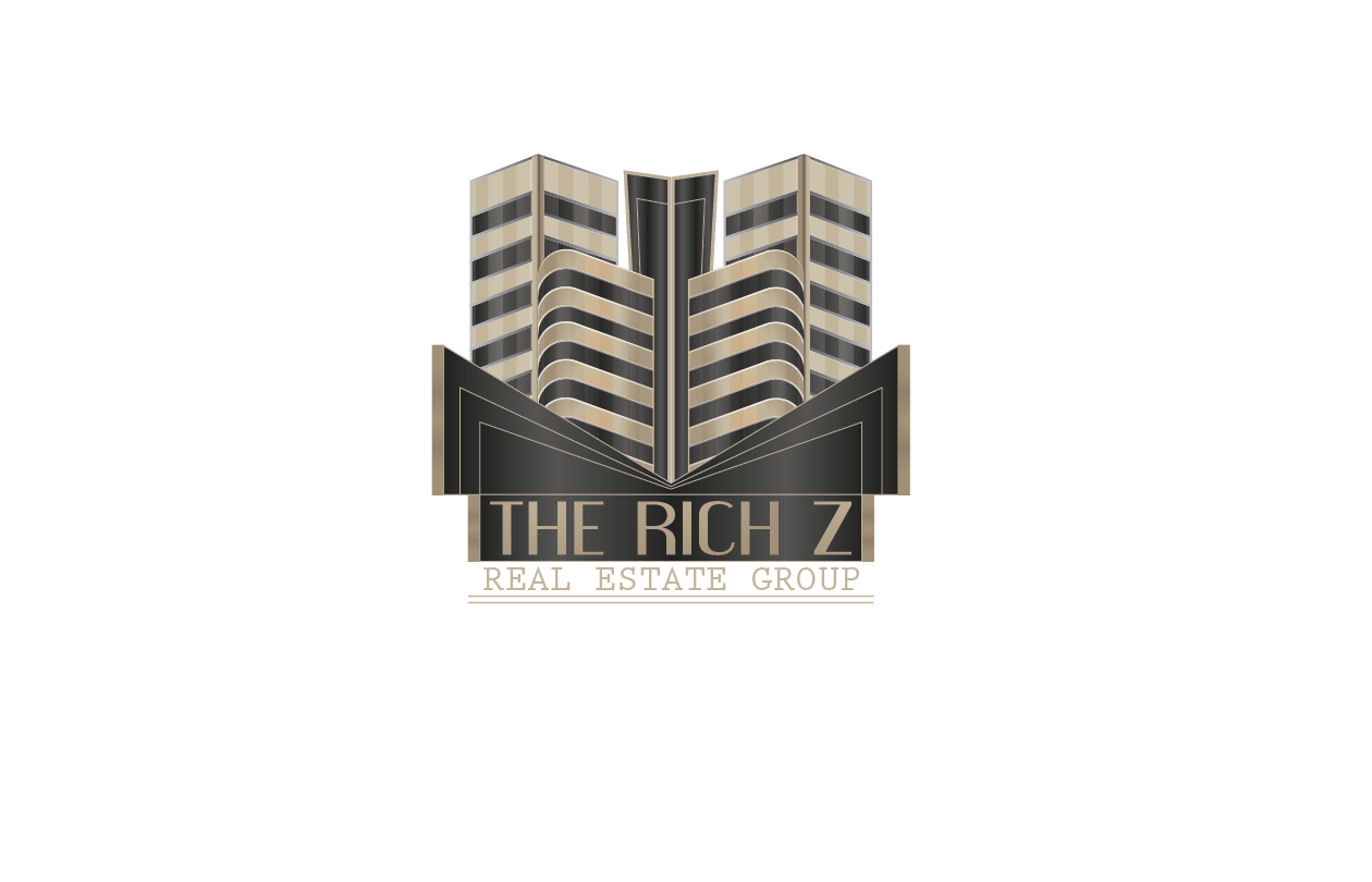 Logo Design by Private User - Entry No. 310 in the Logo Design Contest The Rich Z. Real Estate Group Logo Design.