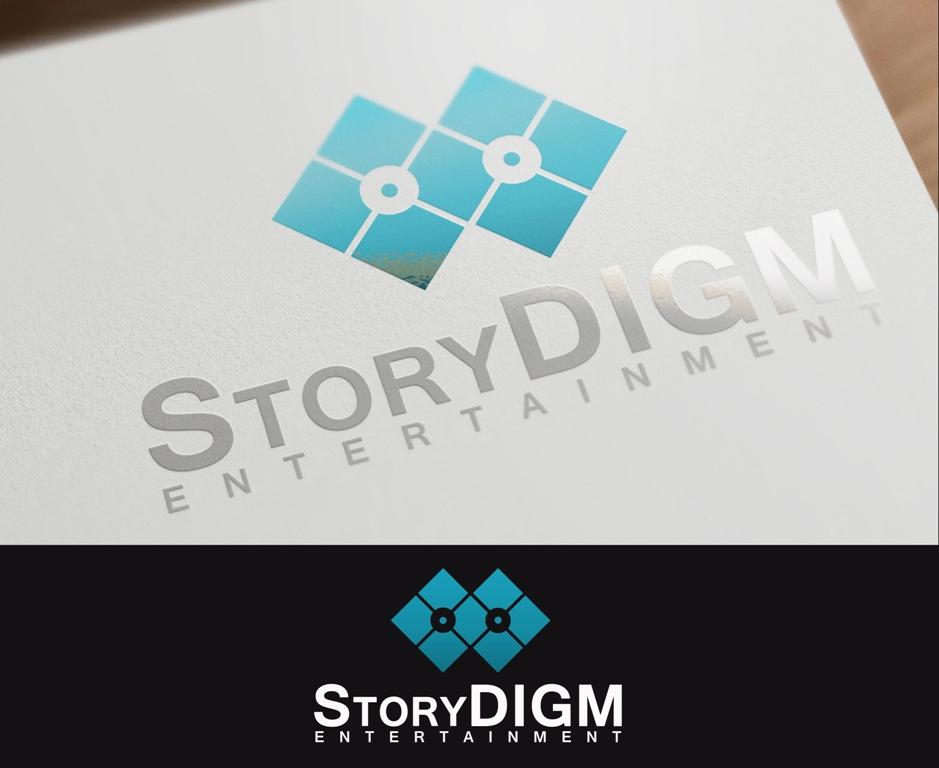 Logo Design by Juan_Kata - Entry No. 94 in the Logo Design Contest Inspiring Logo Design for Storydigm Entertainment.