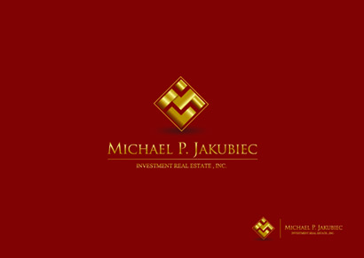 Logo Design by Mark Anthony Moreto Jordan - Entry No. 137 in the Logo Design Contest New Logo Design for Michael P. Jakubiec Investment Real Estate, Inc..
