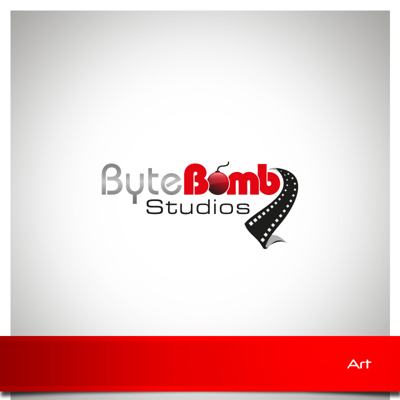 Logo Design by Puspita Wahyuni - Entry No. 36 in the Logo Design Contest Captivating Logo Design for ByteBomb Studios.