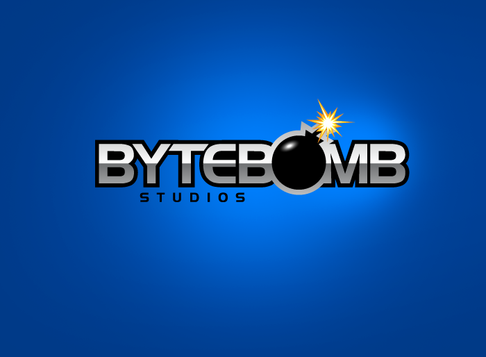 Logo Design by Jan Chua - Entry No. 37 in the Logo Design Contest Captivating Logo Design for ByteBomb Studios.
