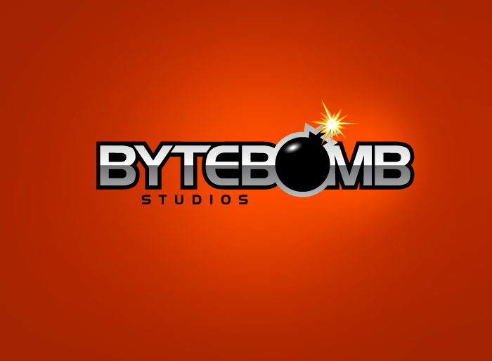 Logo Design by Jan Chua - Entry No. 38 in the Logo Design Contest Captivating Logo Design for ByteBomb Studios.