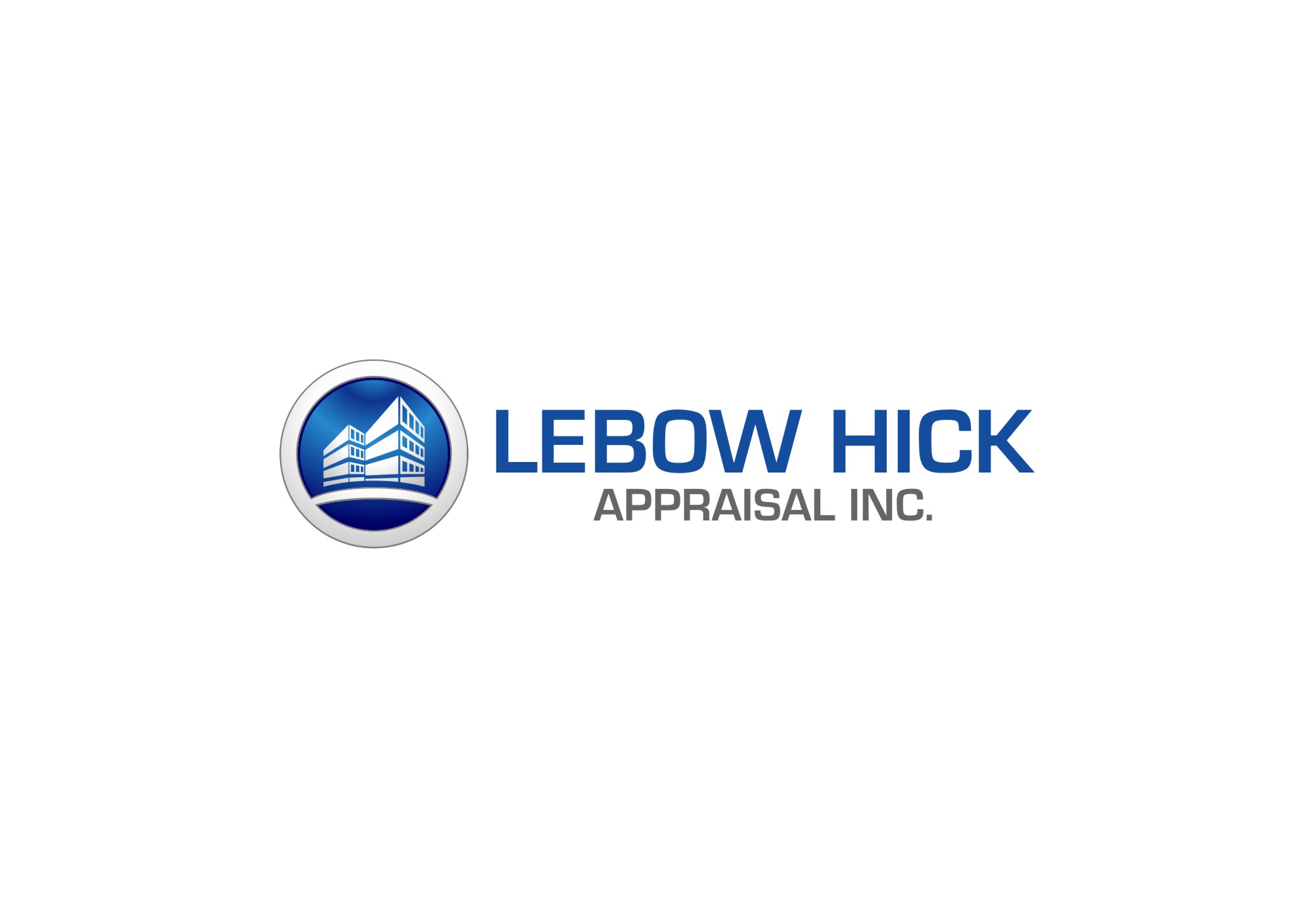 Logo Design by untung - Entry No. 14 in the Logo Design Contest Fun Logo Design for Lebow, Hicks Appraisal Inc..