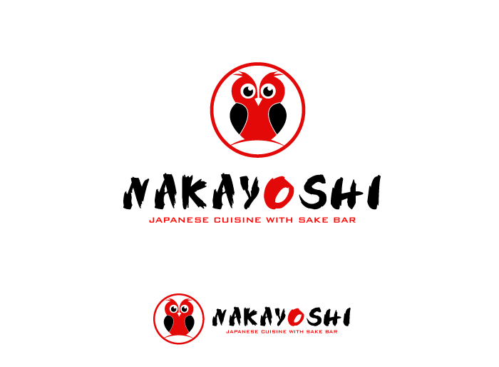 Logo Design by Jan Chua - Entry No. 89 in the Logo Design Contest Imaginative Logo Design for NAKAYOSHI.