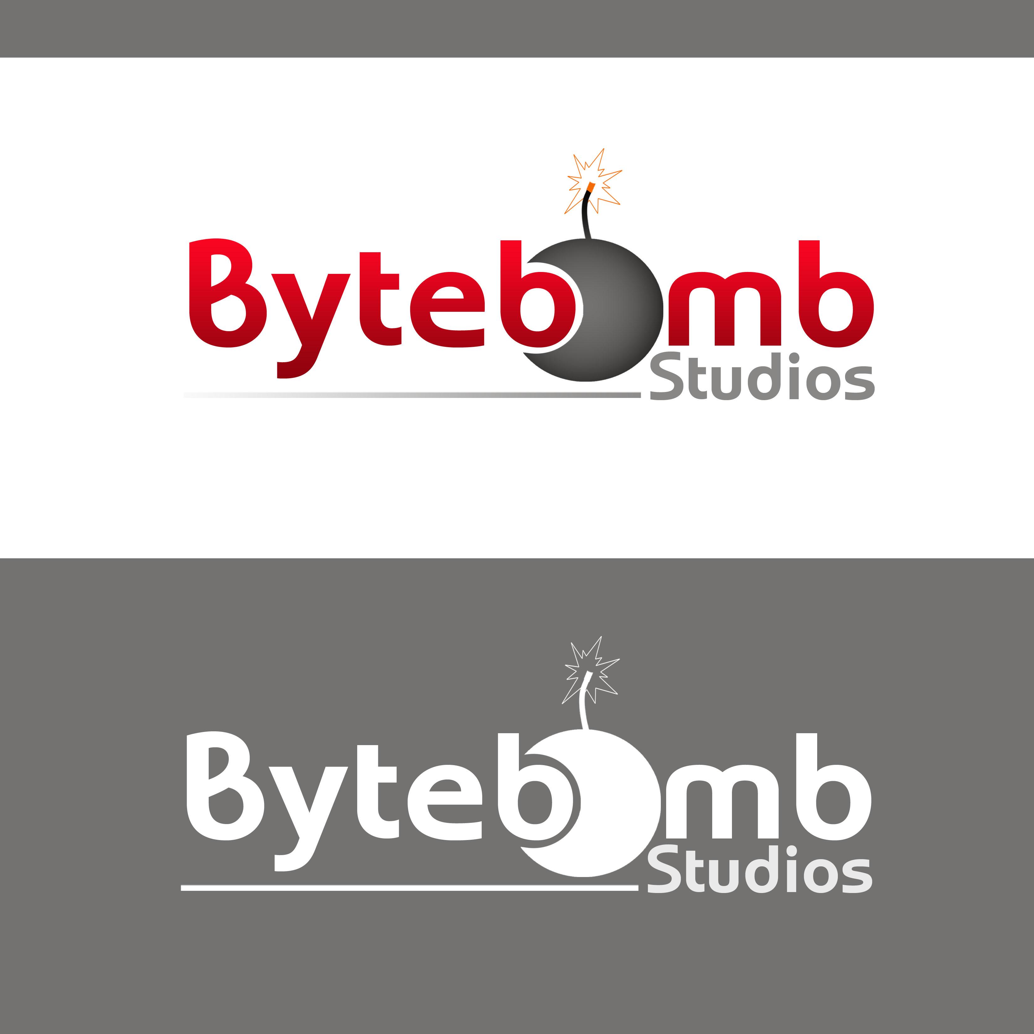 Logo Design by Allan Esclamado - Entry No. 41 in the Logo Design Contest Captivating Logo Design for ByteBomb Studios.