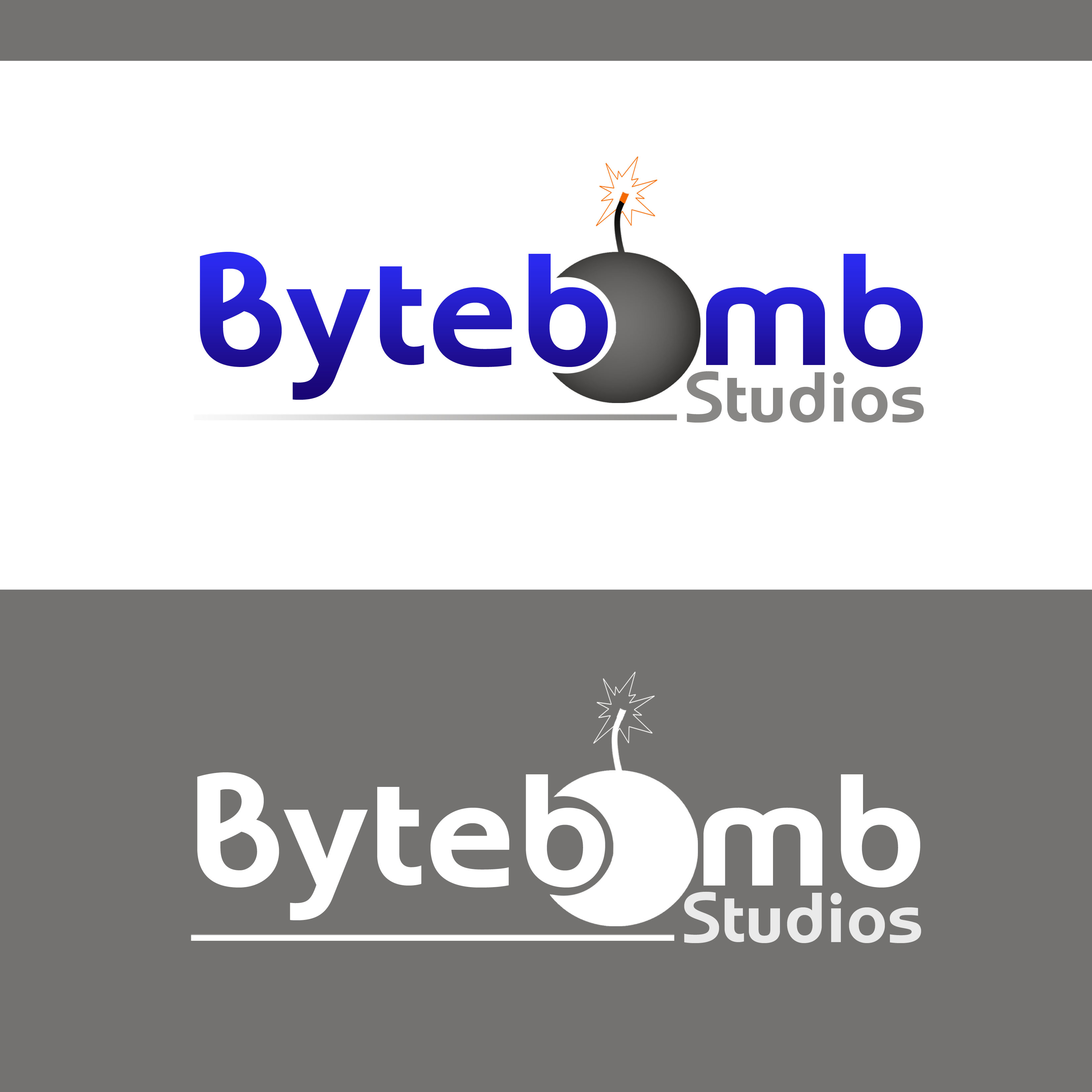 Logo Design by Allan Esclamado - Entry No. 42 in the Logo Design Contest Captivating Logo Design for ByteBomb Studios.