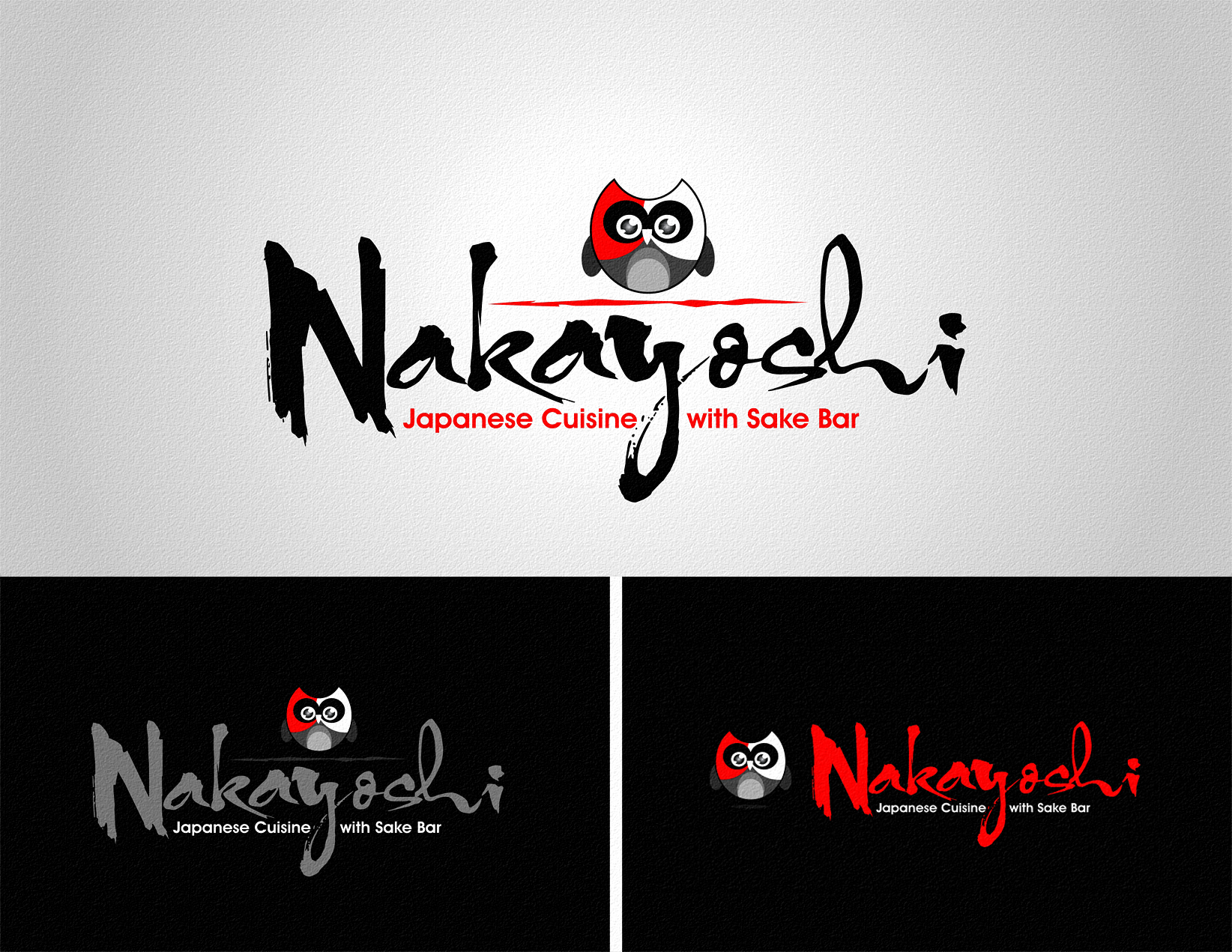 Logo Design by Private User - Entry No. 98 in the Logo Design Contest Imaginative Logo Design for NAKAYOSHI.