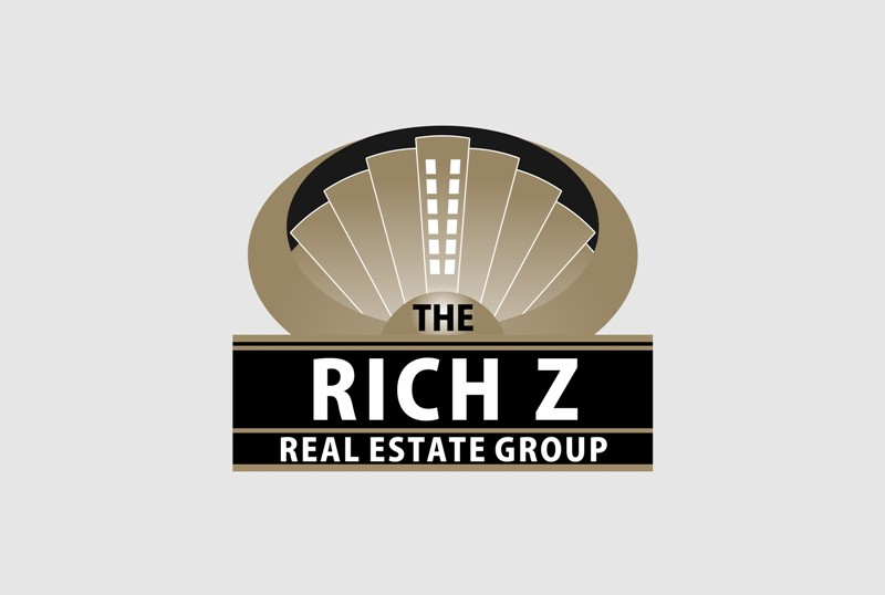 Logo Design by Crispin Jr Vasquez - Entry No. 316 in the Logo Design Contest The Rich Z. Real Estate Group Logo Design.