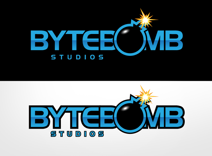 Logo Design by Jan Chua - Entry No. 45 in the Logo Design Contest Captivating Logo Design for ByteBomb Studios.