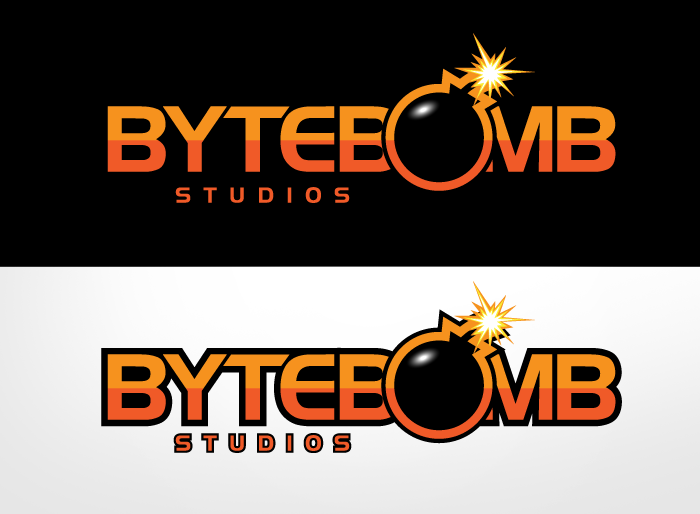 Logo Design by Jan Chua - Entry No. 46 in the Logo Design Contest Captivating Logo Design for ByteBomb Studios.