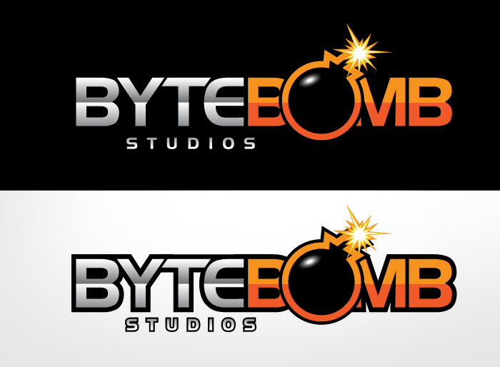 Logo Design by Jan Chua - Entry No. 47 in the Logo Design Contest Captivating Logo Design for ByteBomb Studios.