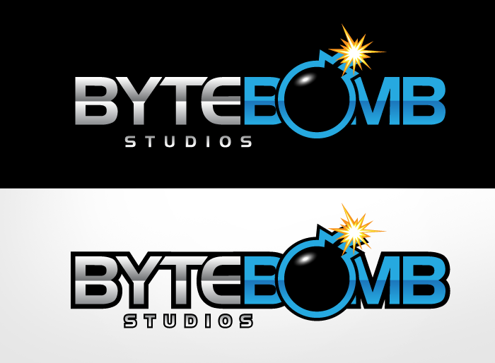 Logo Design by Jan Chua - Entry No. 48 in the Logo Design Contest Captivating Logo Design for ByteBomb Studios.