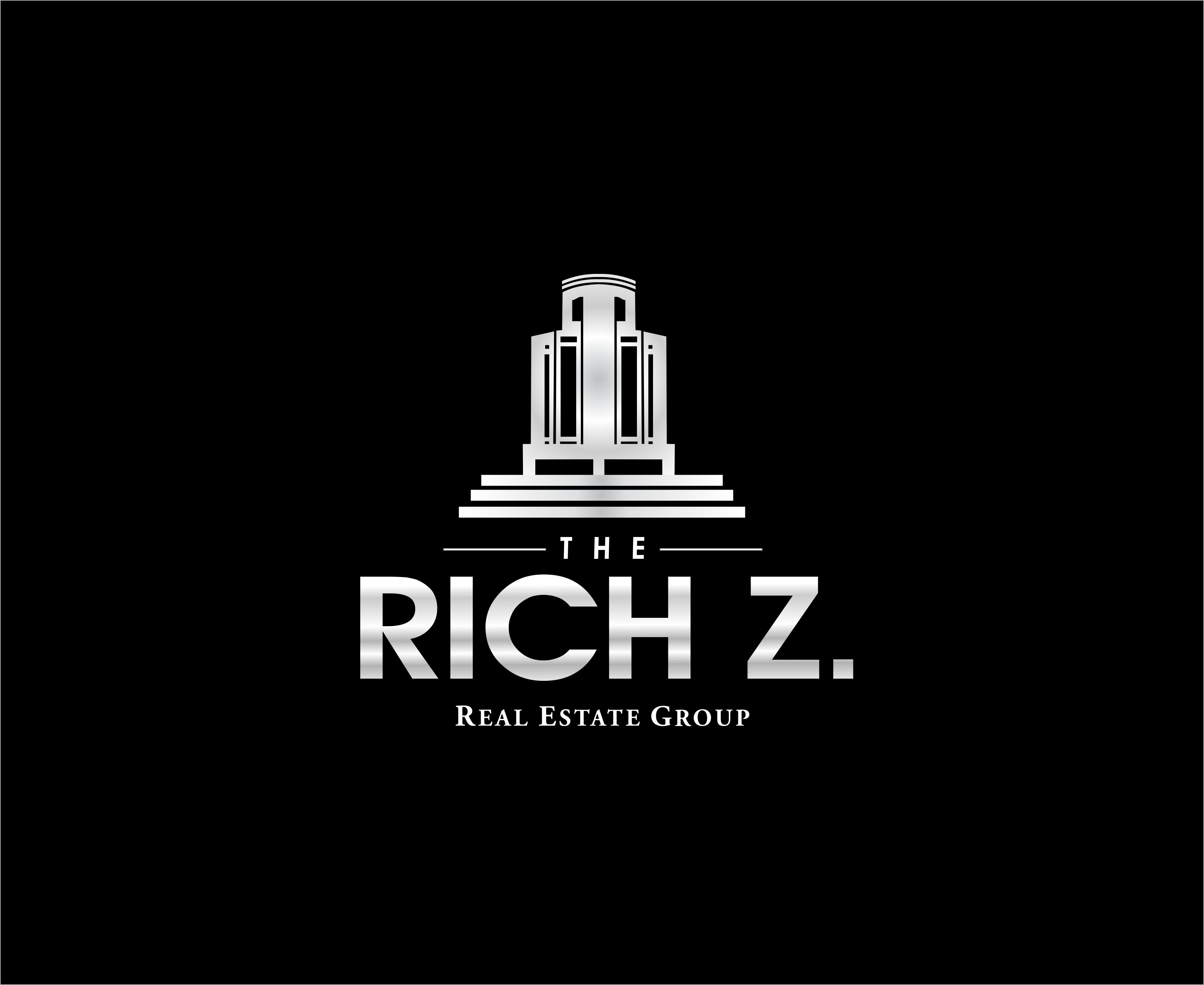 Logo Design by Mhon_Rose - Entry No. 317 in the Logo Design Contest The Rich Z. Real Estate Group Logo Design.