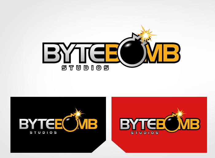 Logo Design by Jan Chua - Entry No. 49 in the Logo Design Contest Captivating Logo Design for ByteBomb Studios.
