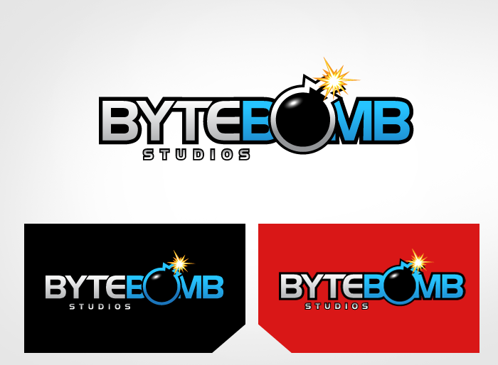 Logo Design by Jan Chua - Entry No. 50 in the Logo Design Contest Captivating Logo Design for ByteBomb Studios.