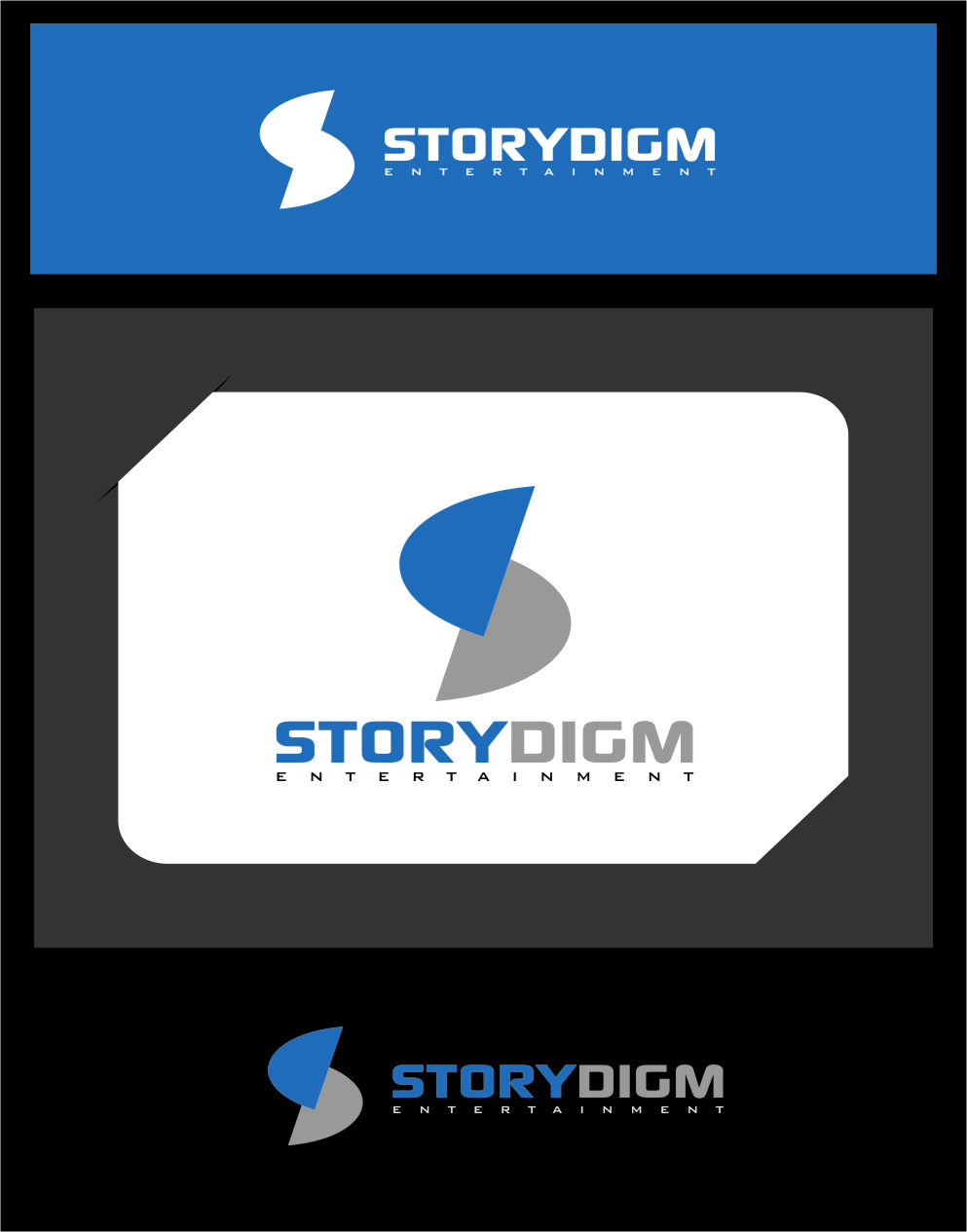 Logo Design by Ngepet_art - Entry No. 100 in the Logo Design Contest Inspiring Logo Design for Storydigm Entertainment.