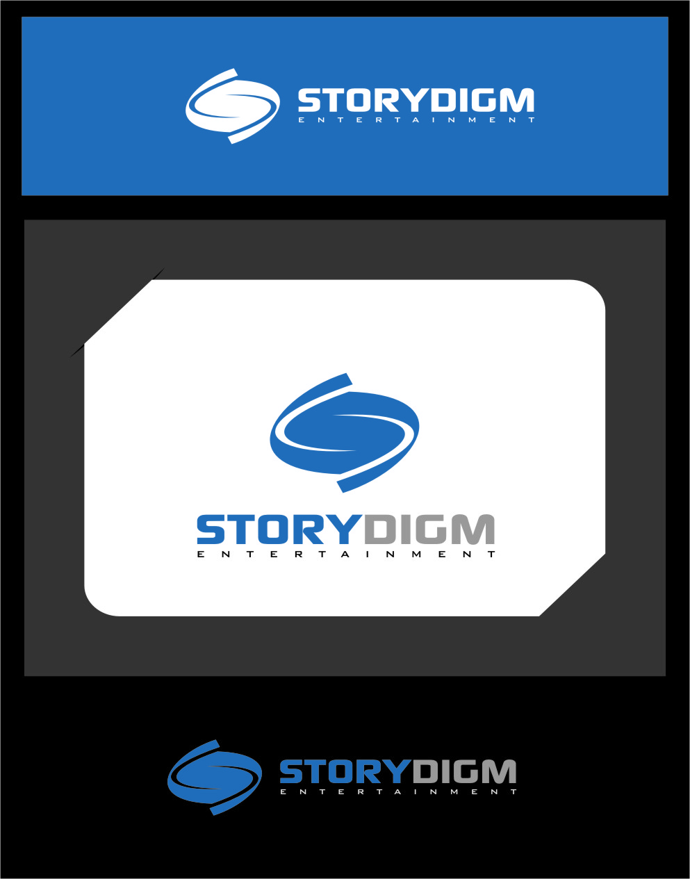 Logo Design by Ngepet_art - Entry No. 101 in the Logo Design Contest Inspiring Logo Design for Storydigm Entertainment.