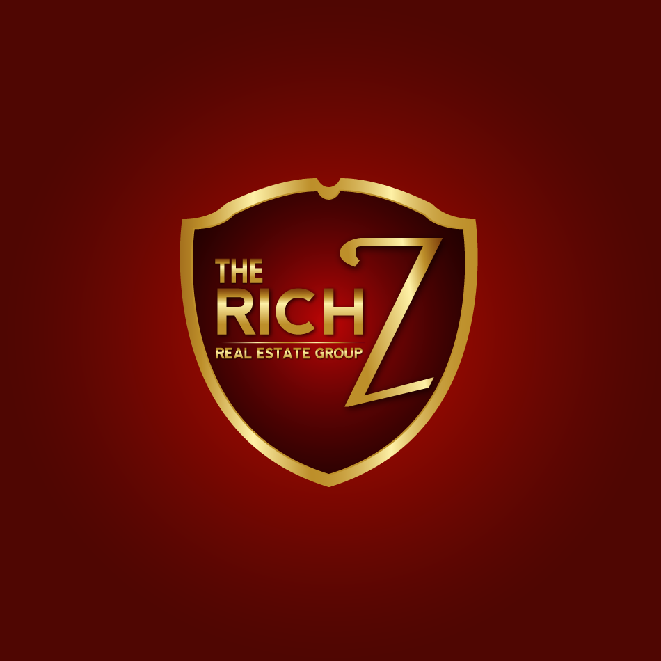 Logo Design by moonflower - Entry No. 322 in the Logo Design Contest The Rich Z. Real Estate Group Logo Design.