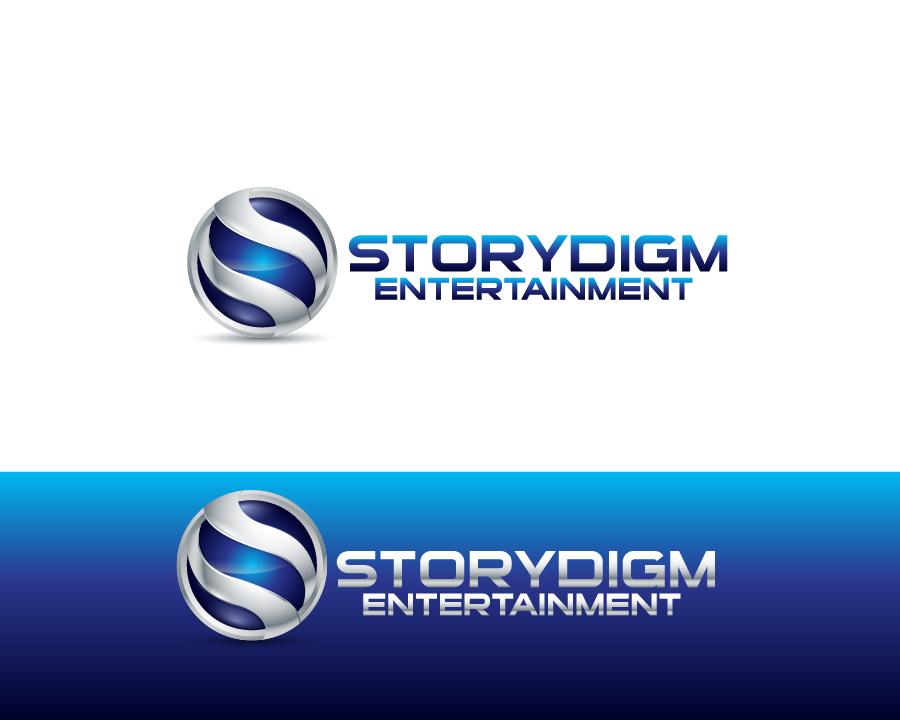 Logo Design by Private User - Entry No. 106 in the Logo Design Contest Inspiring Logo Design for Storydigm Entertainment.