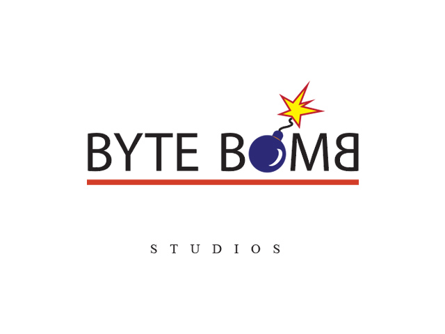 Logo Design by Kyaw Min Khaing - Entry No. 53 in the Logo Design Contest Captivating Logo Design for ByteBomb Studios.
