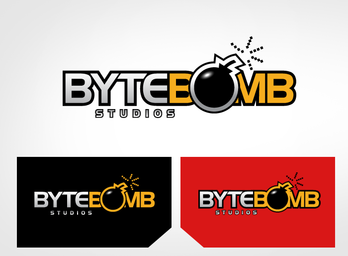 Logo Design by Jan Chua - Entry No. 57 in the Logo Design Contest Captivating Logo Design for ByteBomb Studios.