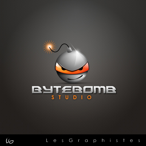 Logo Design by Les-Graphistes - Entry No. 61 in the Logo Design Contest Captivating Logo Design for ByteBomb Studios.