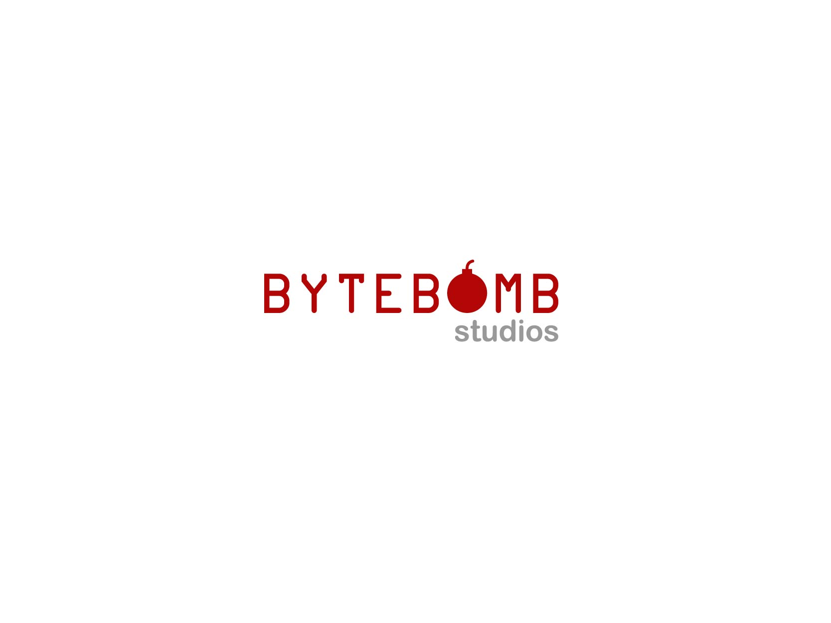Logo Design by Osi Indra - Entry No. 62 in the Logo Design Contest Captivating Logo Design for ByteBomb Studios.