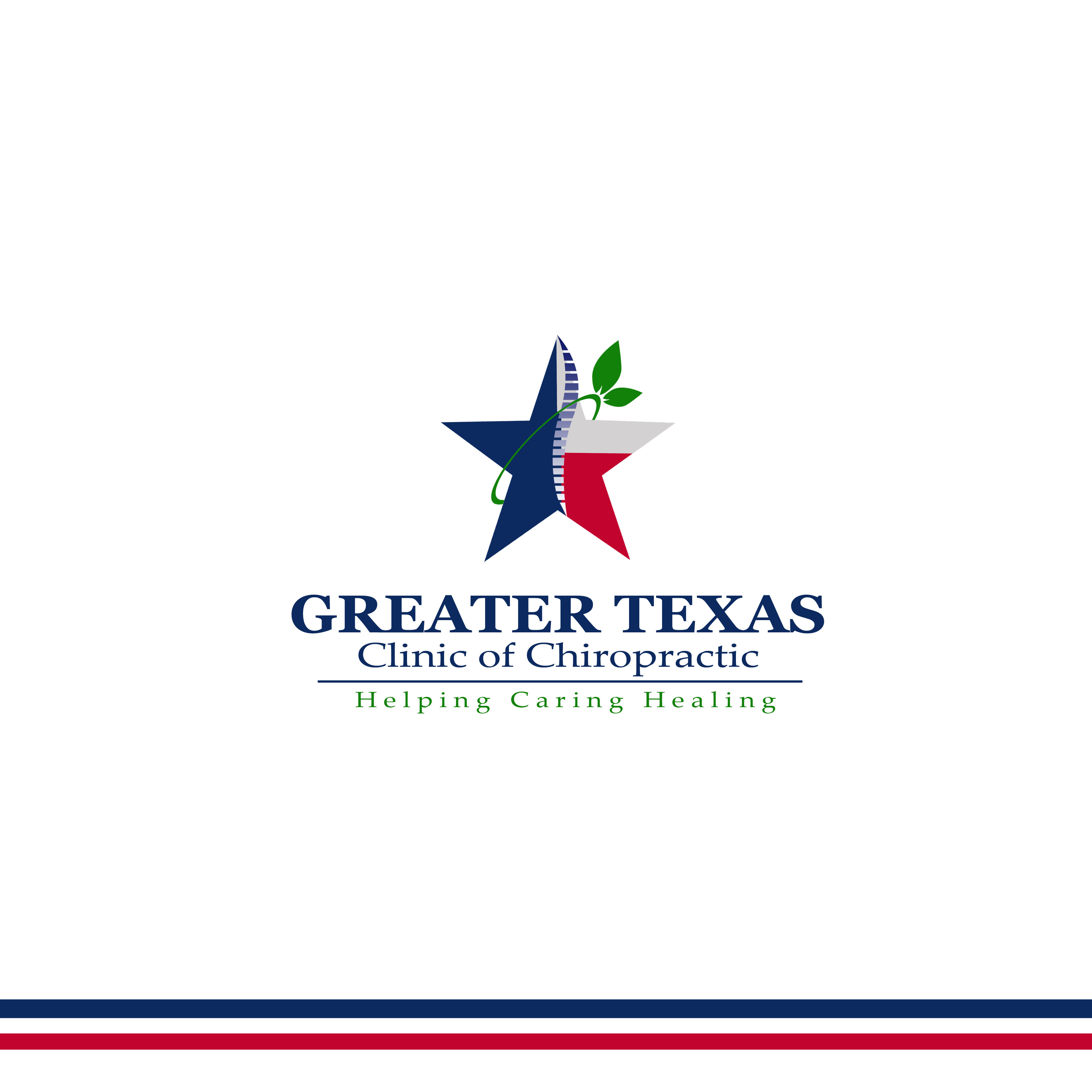 Logo Design by Allan Esclamado - Entry No. 28 in the Logo Design Contest New Logo Design for Greater Texas Clinic of Chiropractic.