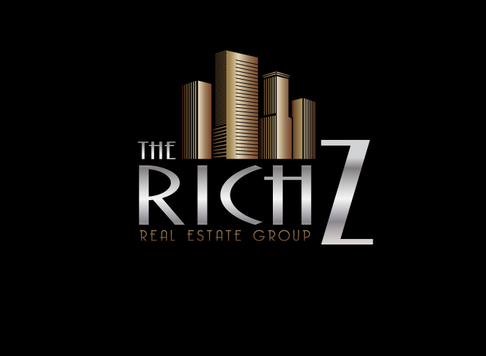 Logo Design by Jan Chua - Entry No. 324 in the Logo Design Contest The Rich Z. Real Estate Group Logo Design.