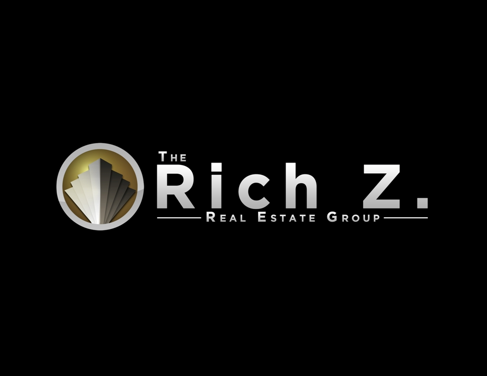 Logo Design by Juan_Kata - Entry No. 325 in the Logo Design Contest The Rich Z. Real Estate Group Logo Design.