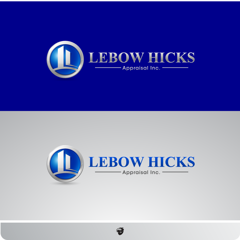 Logo Design by zesthar - Entry No. 27 in the Logo Design Contest Fun Logo Design for Lebow, Hicks Appraisal Inc..