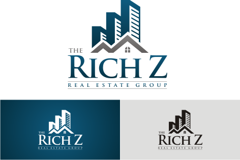 Logo Design by key - Entry No. 331 in the Logo Design Contest The Rich Z. Real Estate Group Logo Design.