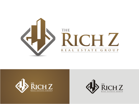 Logo Design by key - Entry No. 332 in the Logo Design Contest The Rich Z. Real Estate Group Logo Design.