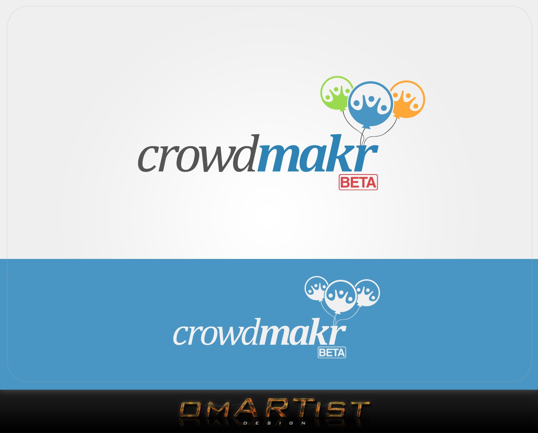 Logo Design by omARTist - Entry No. 130 in the Logo Design Contest Unique Logo Design Wanted for crowdmakr.